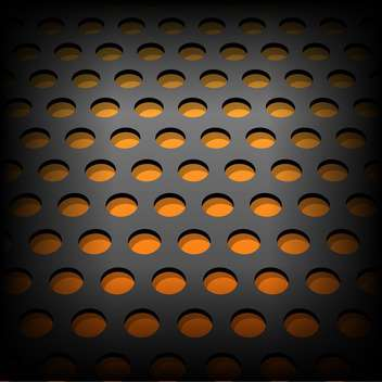 Vector illustration of abstract metallic background with circles - Free vector #125826