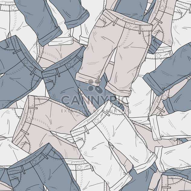 Vector background with different fashion shorts - Free vector #126116