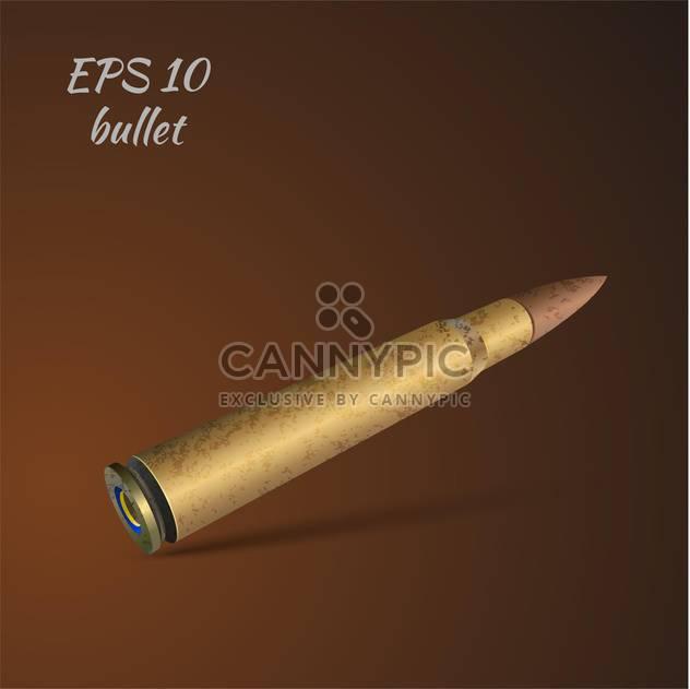 Vektor-Illustration der Kugel auf braunen Hintergrund - Free vector #127146