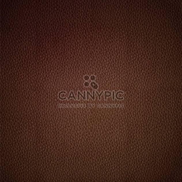 Nahtloser Vektor Leder Textur braun Hintergrundmuster - Kostenloses vector #127666
