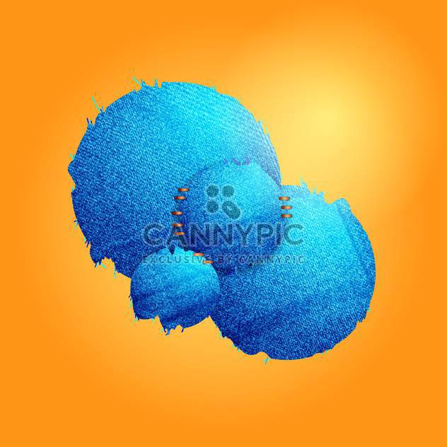 Abstract jeans vector background - Free vector #128576