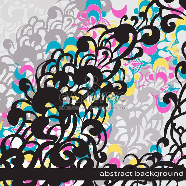Abstract vector colorful background. - Free vector #128736