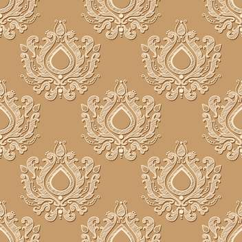 Seamless vector wallpaper pattern - vector gratuit #130226