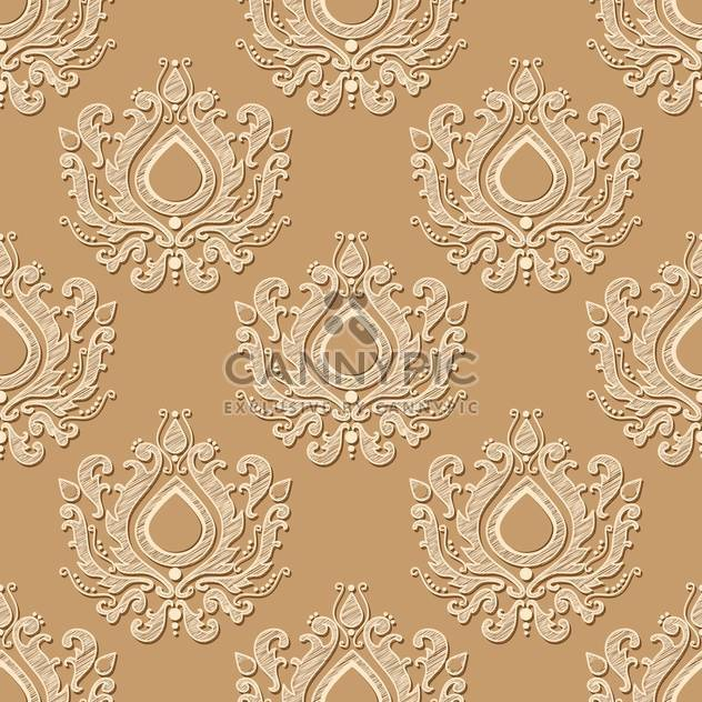 Seamless vector wallpaper pattern - Free vector #130226
