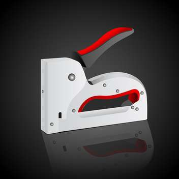 Stapler illustration vector icon - vector gratuit #130426