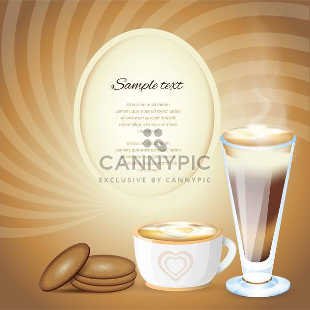 Coffee design template vector illustration. - Free vector #131116