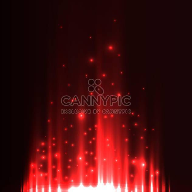 Red aurora borealis background - Free vector #131346