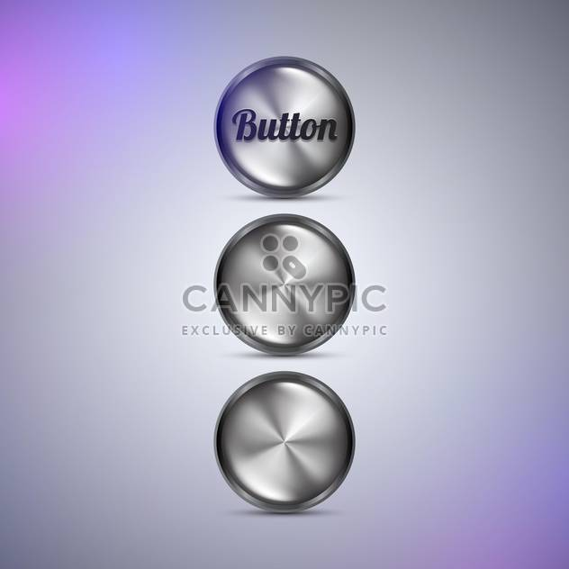 Vector web buttons illustration - Free vector #131606