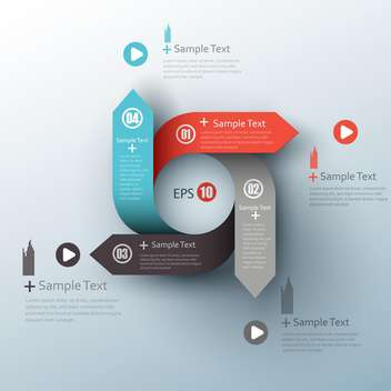 modern business design template - vector #132716 gratis