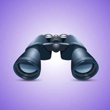 binoculars web icon vector - Free vector #132776