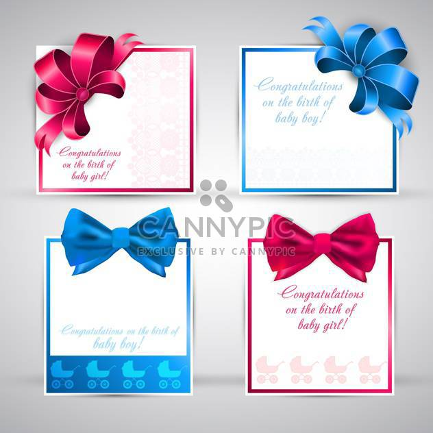 note papers and scrapbook elements - Free vector #132936