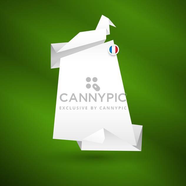 abstrakte Origami Papierhintergrund - Kostenloses vector #132956