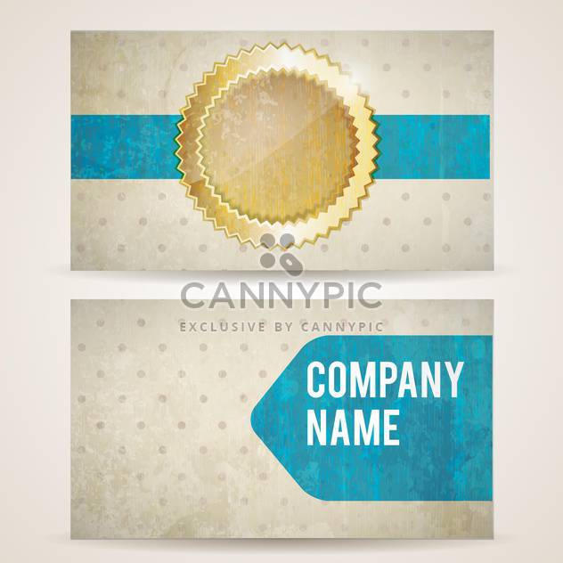vintage label and company frame background - Free vector #133166