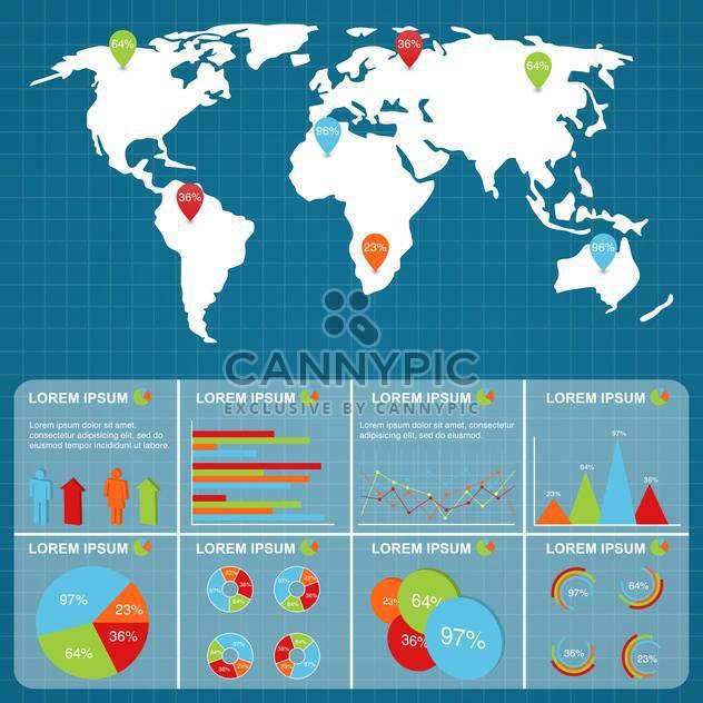 Geschäft Infographik Elemente - Free vector #133536