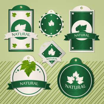 collection of natural frames illustration - Free vector #133636