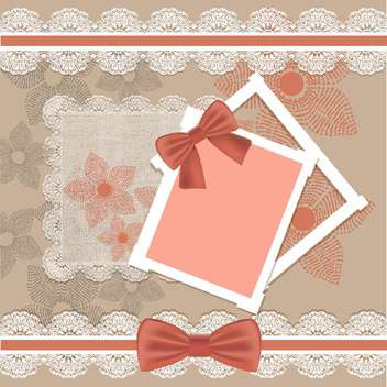 vector set of vintage frames background - vector #133736 gratis