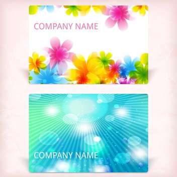 modern business card background - vector gratuit #133836