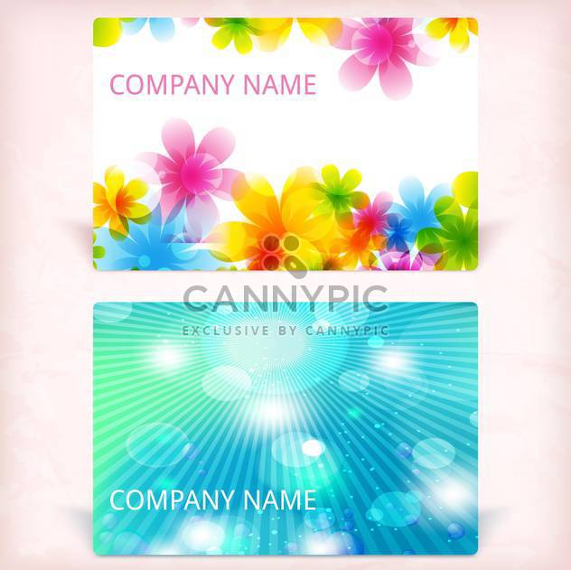 modern business card background - Free vector #133836
