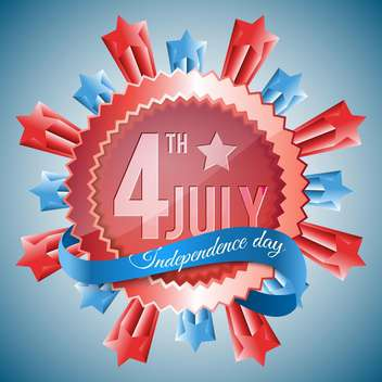 american independence day background - Free vector #133936
