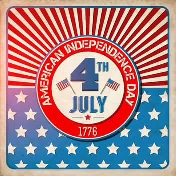 american independence day background - Free vector #134056