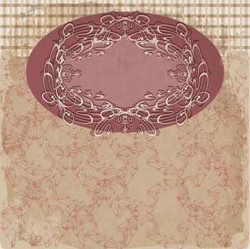 vintage antique frame background - Free vector #134076