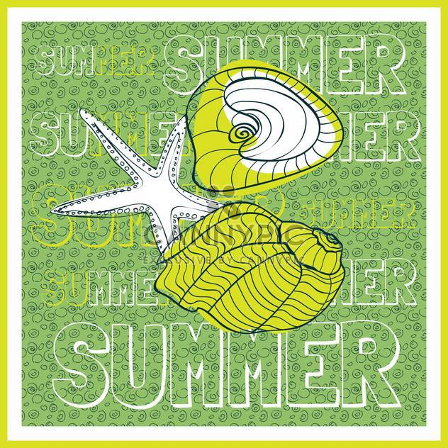 summer holiday vector background - Free vector #134096
