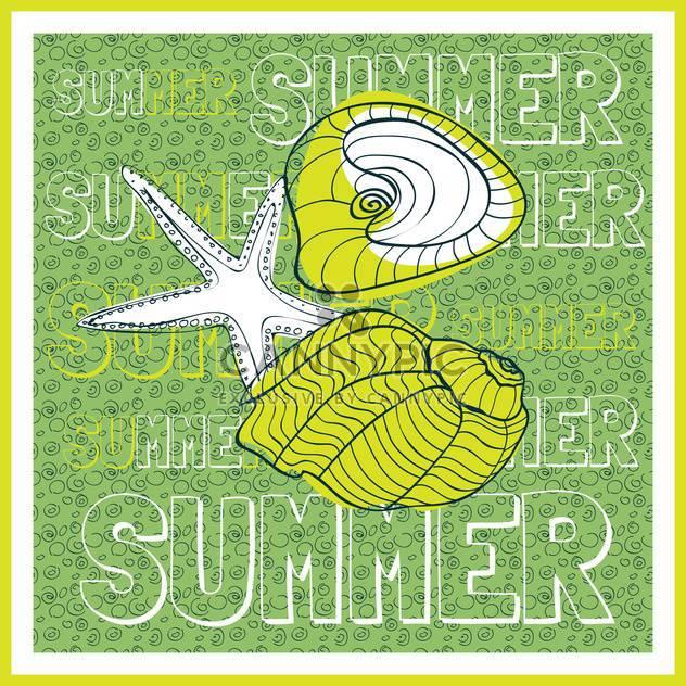 Sommer Urlaub Vektor Hintergrund - Kostenloses vector #134096