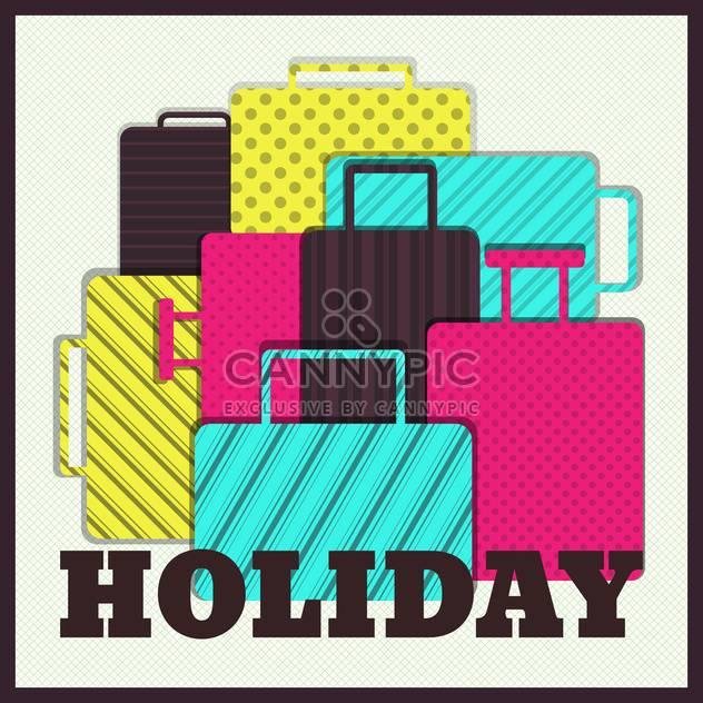 summer vacation holiday illustration - Free vector #134106