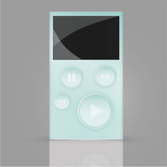 walkman media player vector illustration - vector #134236 gratis