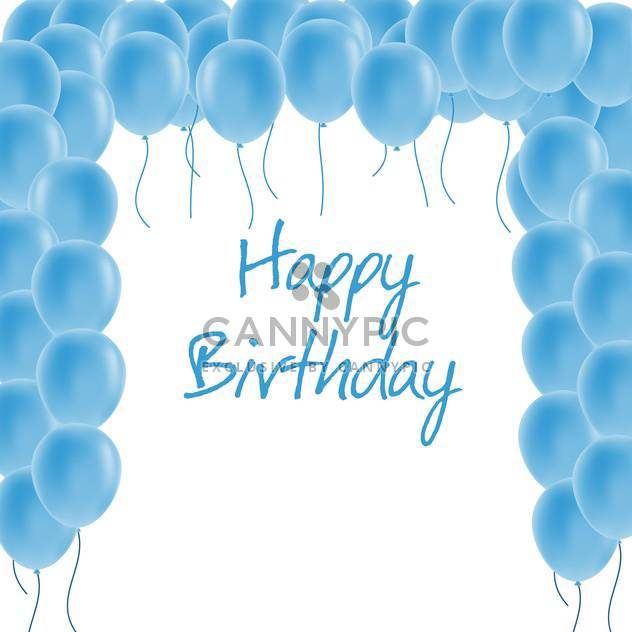 alles Gute zum Geburtstag Grußkarte - Free vector #134276