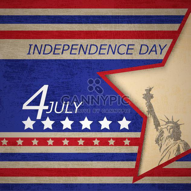 USA-Unabhängigkeitstag-poster - Free vector #134366