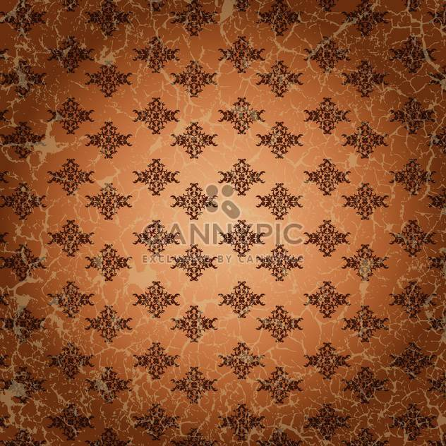 vintage floral vector background - Free vector #134716