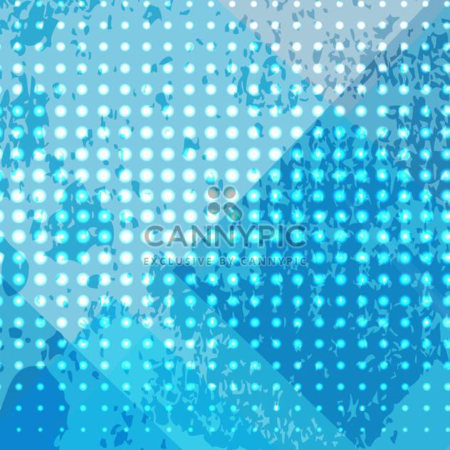 abstract blue dots background - Free vector #134986