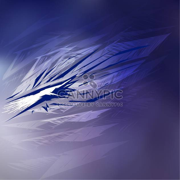 vector illustration of abstract lined blue background - Free vector #126066
