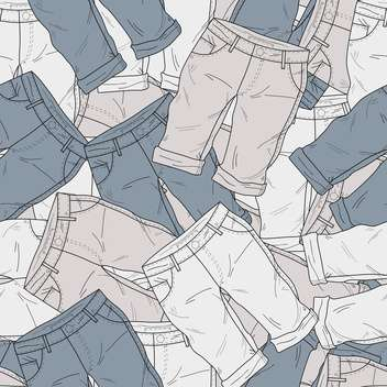 Vector background with different fashion shorts - бесплатный vector #126116