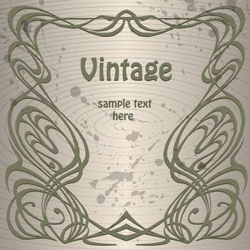 Vector vintage background with text place and paint signs on grey background - бесплатный vector #126286