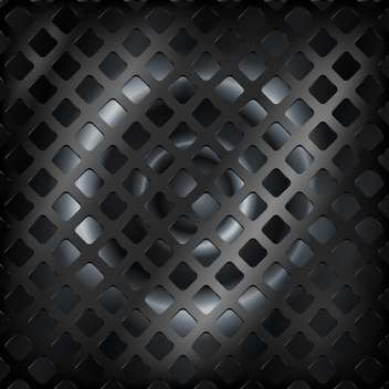 Vector black color steel abstract background - vector gratuit #127506