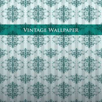 Vector vintage background with floral pattern - Free vector #127586