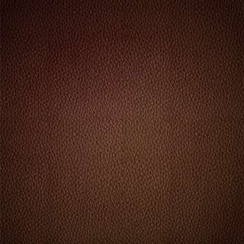 Seamless vector leather texture brown background pattern - vector gratuit #127666