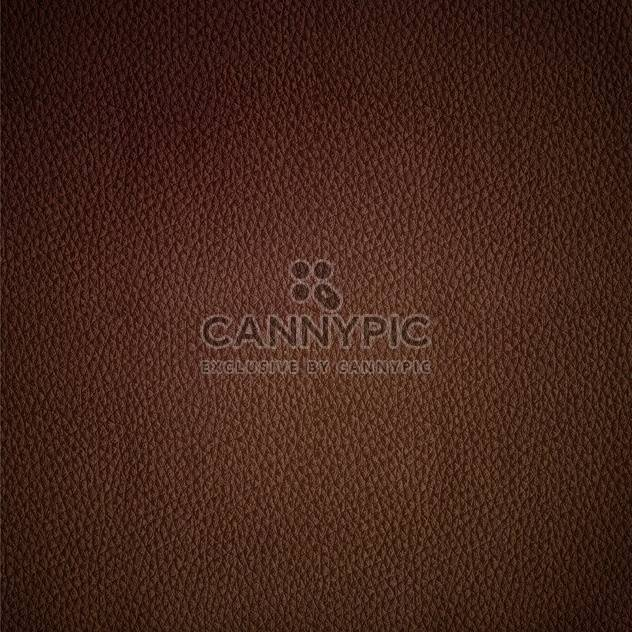 Seamless vector leather texture brown background pattern - Free vector #127666