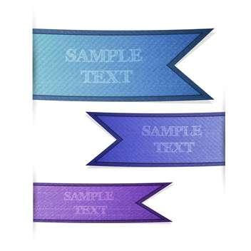 Set with labels with space for text - Kostenloses vector #128226
