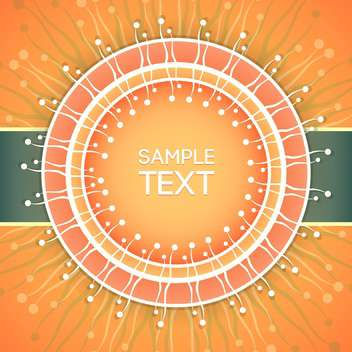 Abstract vector background with place for text - vector gratuit #128336