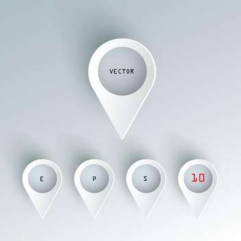 Vector set of colorful 3d buttons. - бесплатный vector #128876