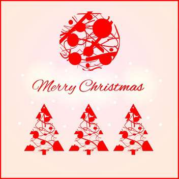Vector illustration of Christmas decoration set - vector #128956 gratis