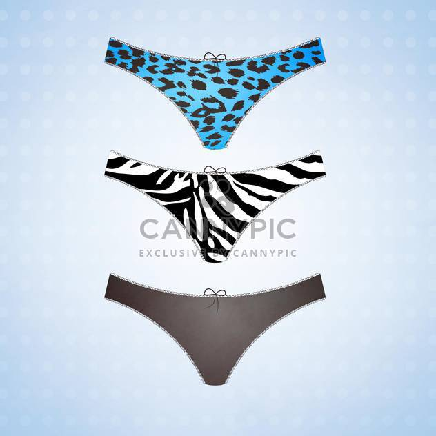 set of vector female lingerie - Free vector #129156