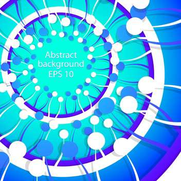Vector abstract blue spring background - бесплатный vector #129326