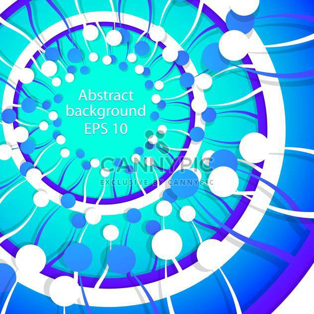 Vector abstract blue spring background - Free vector #129326