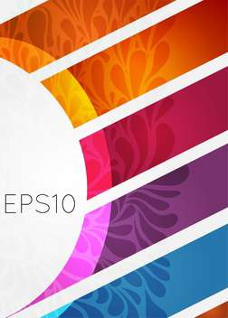 Vector colorful ornamental background - Kostenloses vector #129496