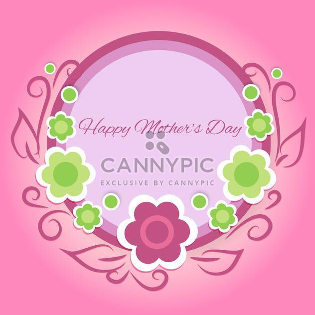 Happy mother day background - Free vector #130566