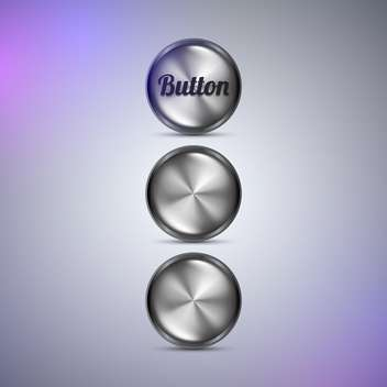 Vector web buttons illustration - vector gratuit #131606